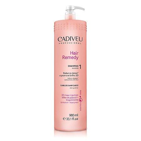 Shampoo Hair Remedy - Cadiveu 980ml