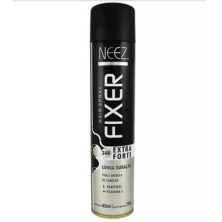 Fixador de Cabelo Extra Forte 24h 400ml - NEEZ