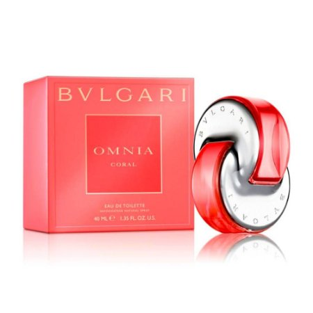 Perfume Bvlgari Omnia Coral Feminino Eau de Toilette 40ml