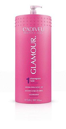 Shampoo Glamour Rubi e Cisteína 3000ml - Cadiveu