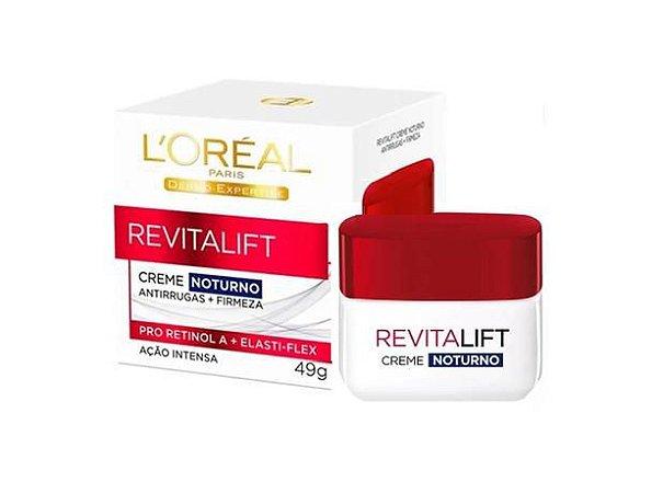 Creme Facial Noturno Revitalift Antirrugas Loréal 49g