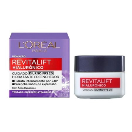 Creme Facial Diurno Revitalift Hialurônico Loréal 49g