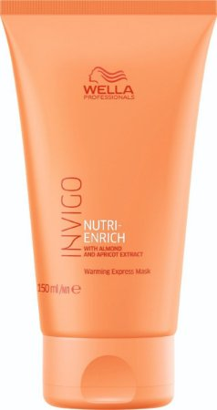 Máscara Warming Express Invigo Nutri Enrich 150ml - Wella