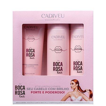 Kit Boca Rosa Hair Quartzo - Cadiveu