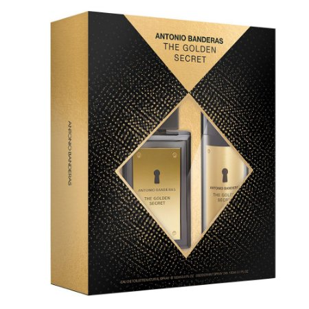 Kit The Golden Secret EDT Masculino - Antonio Banderas