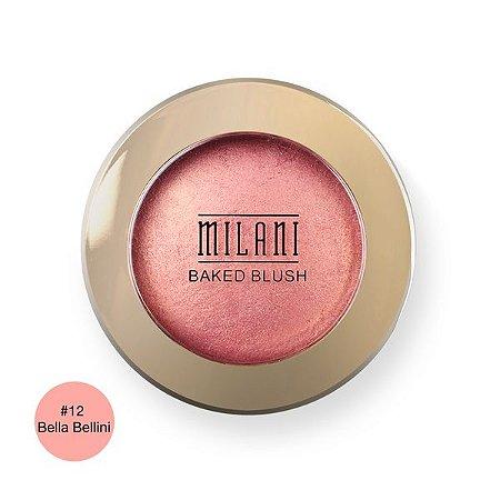 Blush Baked Powder Blush 12 Bella - Milani