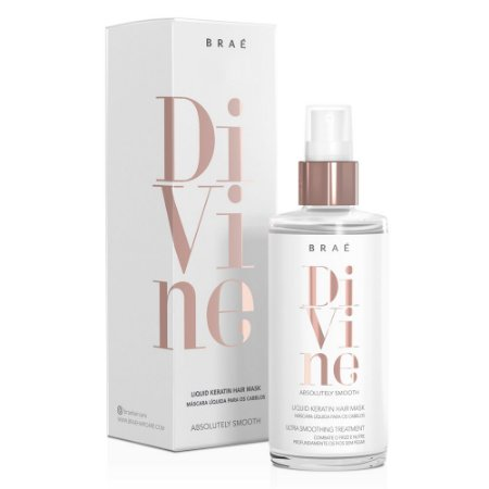 Máscara Líquida Divine Liquid Keratin Hair Mask 60ml - Braé