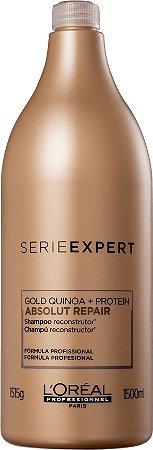 Shampoo Absolut Repair Gold Quinoa + Protein 1500ml - Loréal