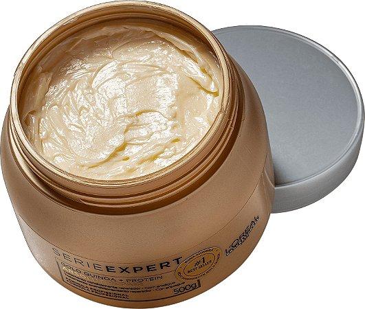 Máscara Capilar Absolut Repair Gold Quinoa 500ml - Loréal