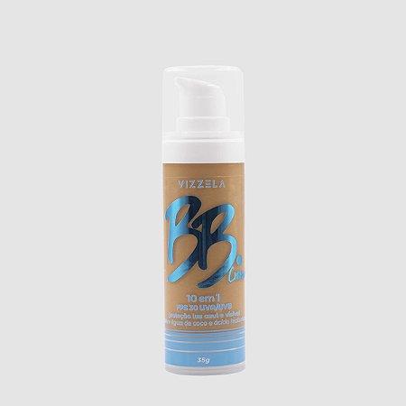 BB Cream Vegano 10 em 1 FPS 30 Cor 05 - Vizzela
