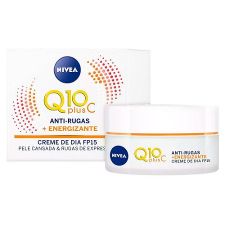 Creme Facial Diurno Antissinais Q10 Plus C 50g - Nivea