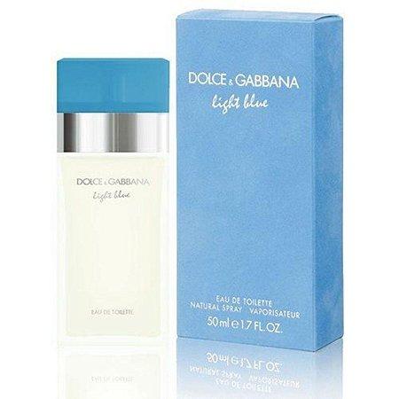 Perfume Light Blue Feminino Eau de Toilette 50ml - Dolce & Gabbana