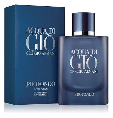 Acqua di Gio Profondo EDP Masculino 75ml - Giorgio Armani