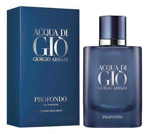Perfume Acqua di Giò Profondo EDP Masculino 40ml - Giorgio Armani