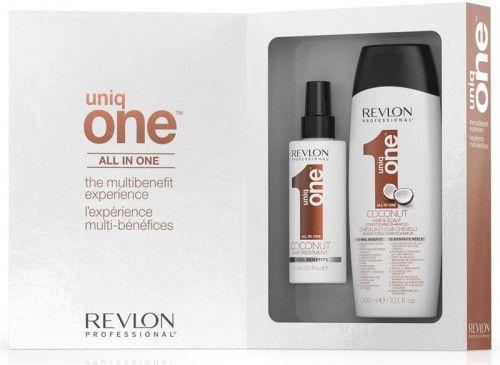 Kit Uniq One Coconut + Shampoo - Revlon