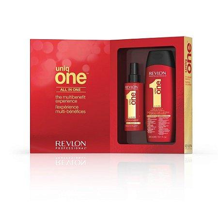 Kit Uniq One Tradicional + Shampoo - Revlon