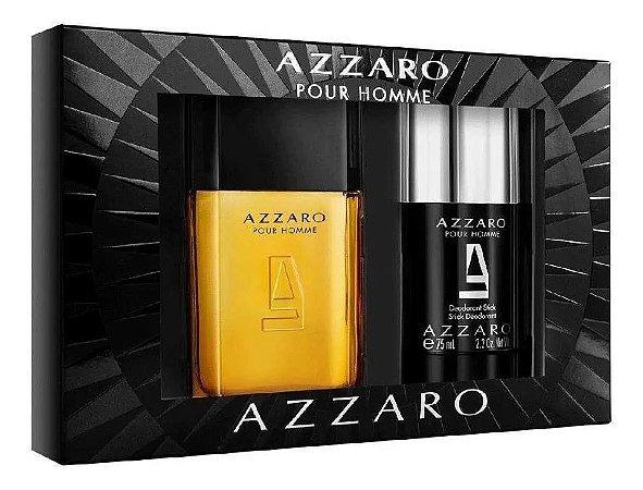 Kit Azzaro Pour Homme Masculino Eau de Toilette - Azzaro