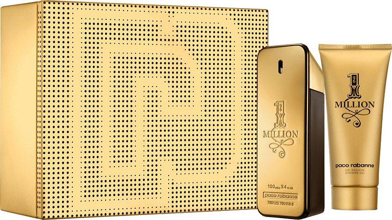 Kit 1 Million Eau de Toilette Masculino - Paco Rabanne
