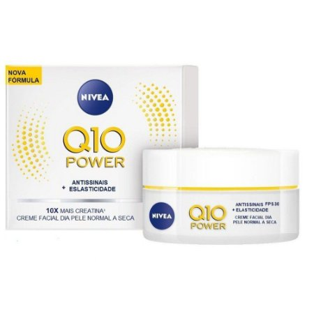 Creme Facial Dia Antissinais Q10 Power 50g - Nivea