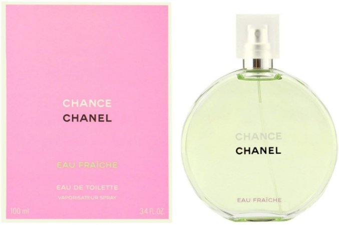 Perfume Chance Eau Fraîche Eau de Toilette 100ml - Chanel