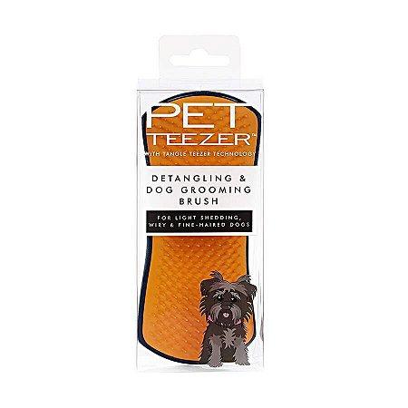 Escova Pet Teezer Detangling Navy Orange - Tangle Teezer