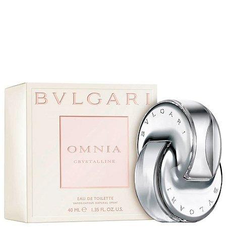 Omnia Crystalline Eau de Toilette Feminino 40ml - Bvlgari