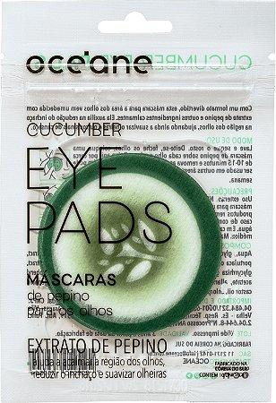 Máscara de Pepino para Olhos Cucumber Eye Pads 10un - Océane