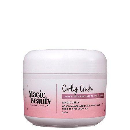 Gelatina para Cachos Curly Crush 500ml - Magic Beauty