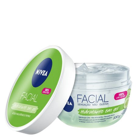 Gel Hidratante Facial Hialurônico e Pepino 100g - Nivea