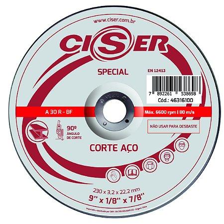 DISCO CORTE ACO CISER SPECIAL 115(4.1/2)X3,2X22,2