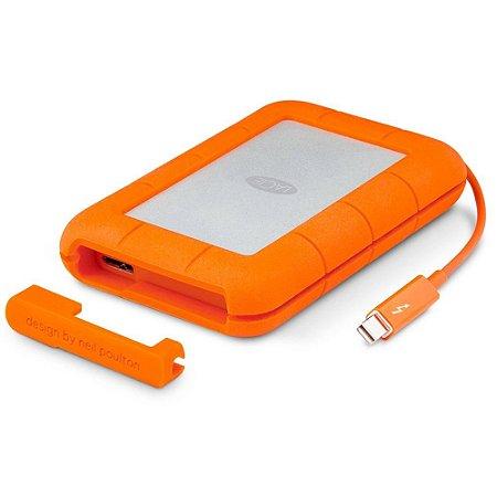 HD Externo LaCie Portátil Rugged 2TB Thunderbolt USB 3.0 | STEV2000400