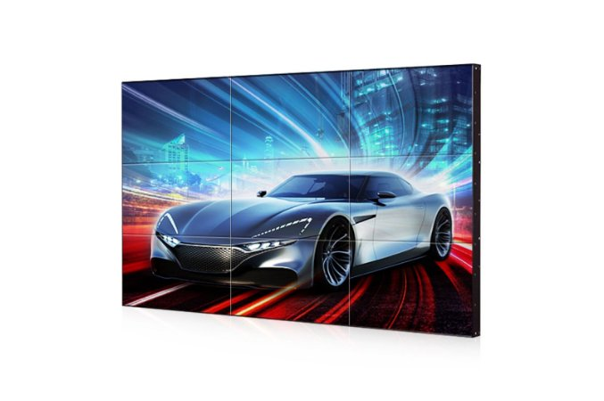 "Monitor Profissional Vídeo Wall Digital Signage LG, 55"", 500 cd/m², 24/7, Full HD, borda 3.5mm - 55LV75D-B"