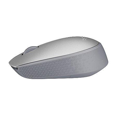 Mouse Logitech M170 Wireless Prata