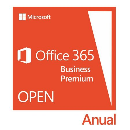 Microsoft Office 365 Business Premium Subscription Open - Licença Anual - 9F4-00003