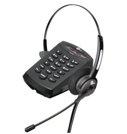 KIT Base Discadora TU-220 + Headset HTU-300 (Completo) Com Atendimento Automático