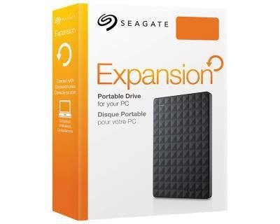 HD Seagate Externo Portátil Expansion USB 3.0 2TB Preto - STEA2000400