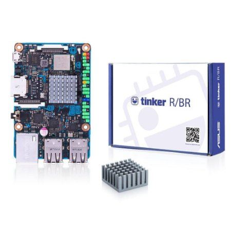 Tinker Board Asus, Rockchip Quad-Core RK3288, 2GB, Micro SD - Superior Raspberry