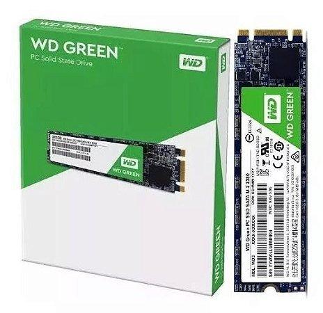 SSD WD 480GB Green M.2 2280 SATA III - WDS480G2G0B
