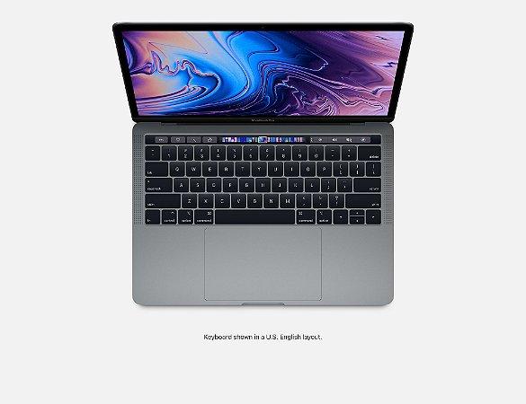 "MacBook Pro Retina Apple 13,3"", 8GB, Prata, SSD 256GB, Intel Core i5, 1.4 GHz, Touch Bar e Touch ID - MUHR2BZ/A"