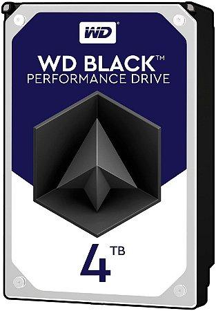 HD Interno 4tb Western Digital Black Sataiii 7200rpm 256mb - Wd4005fzbx