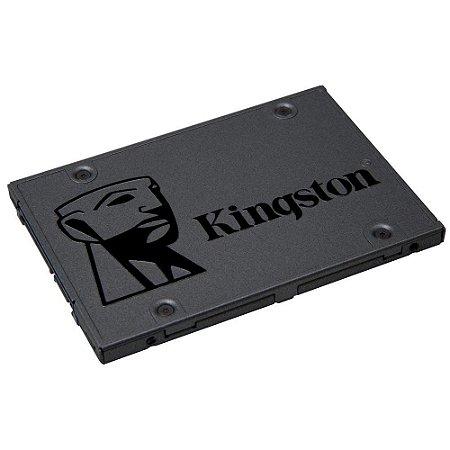 SSD Kingston A400, 120GB, SATA, Leitura 500MB/s, Gravação 320MB/s - SA400S37/120G
