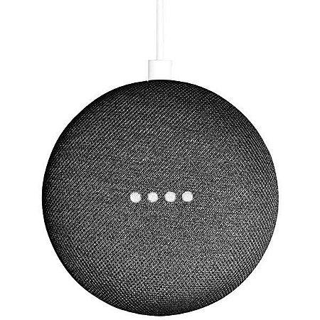 Caixa de Som Google Home Mini GA00216-US com Wi-Fi/Bluetooth - Preto