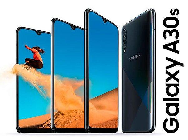 "Smartphone Samsung Galaxy A30s, 64GB, 25MP, Tela 6.4"", Dual SM - A307GZKRZTO"