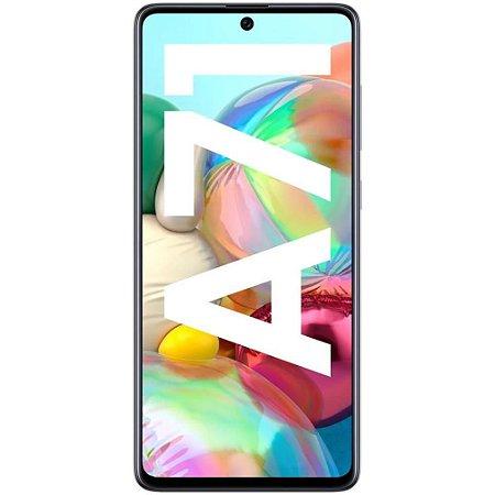 "Smartphone Samsung Galaxy A71, 128GB, 64MP, Tela 6.7"", Preto - SM-A715FZKJZTO"
