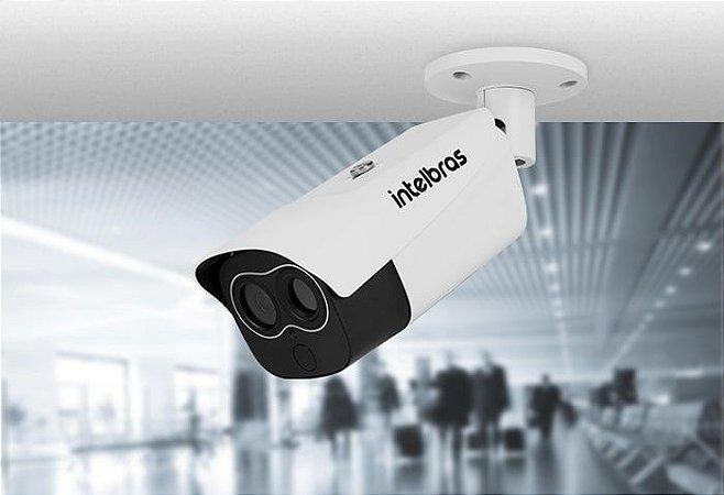 Câmera IP Térmica Híbrida com Medidor de Temperatura - VIP 7200 TH MT - Bullet