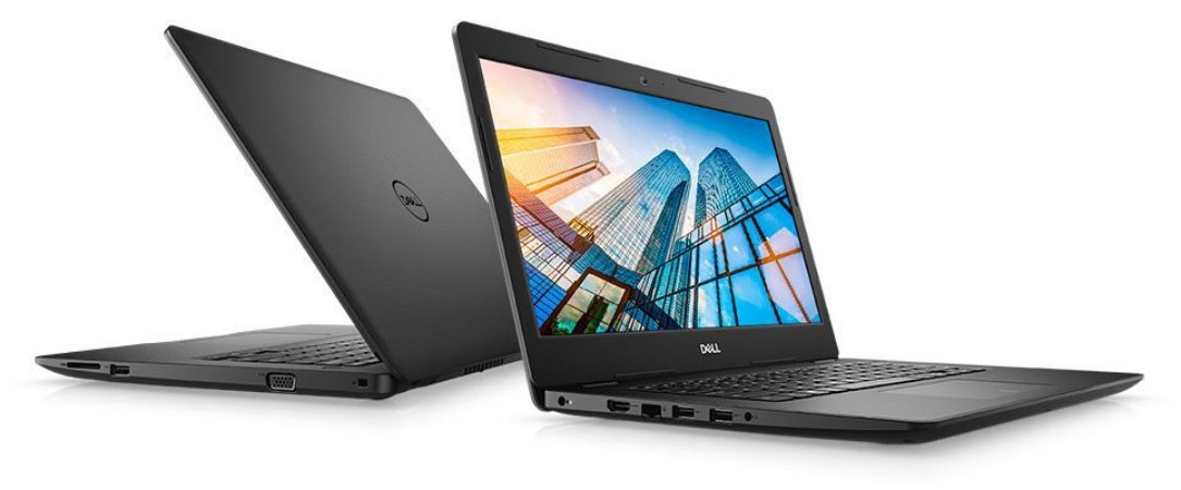 "Notebook Dell Vostro 3480, 14"", i5-8265U, 4GB, HD 1TB, Win10 Pro, 210-ASOC-I5-4GB"