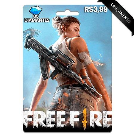 Diamantes Free Fire - 85 Diamantes