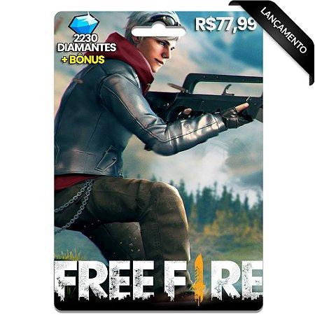 Diamantes Free Fire - 2230 Diamantes