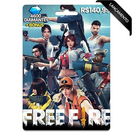 Diamantes Free Fire - 4600 Diamantes