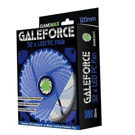 Cooler Gamemax Gamer 32led Azul - Gf12b